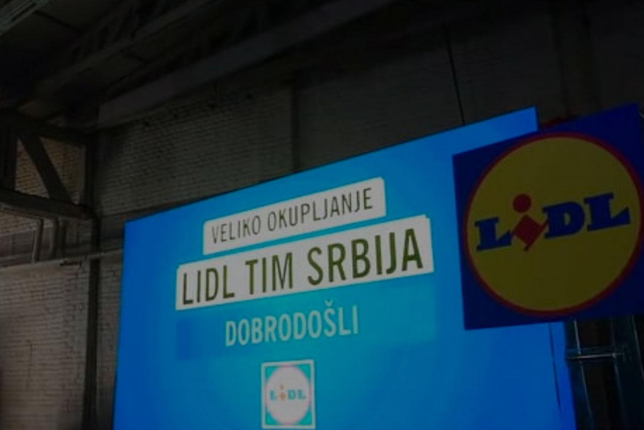 Lidl team Srbija